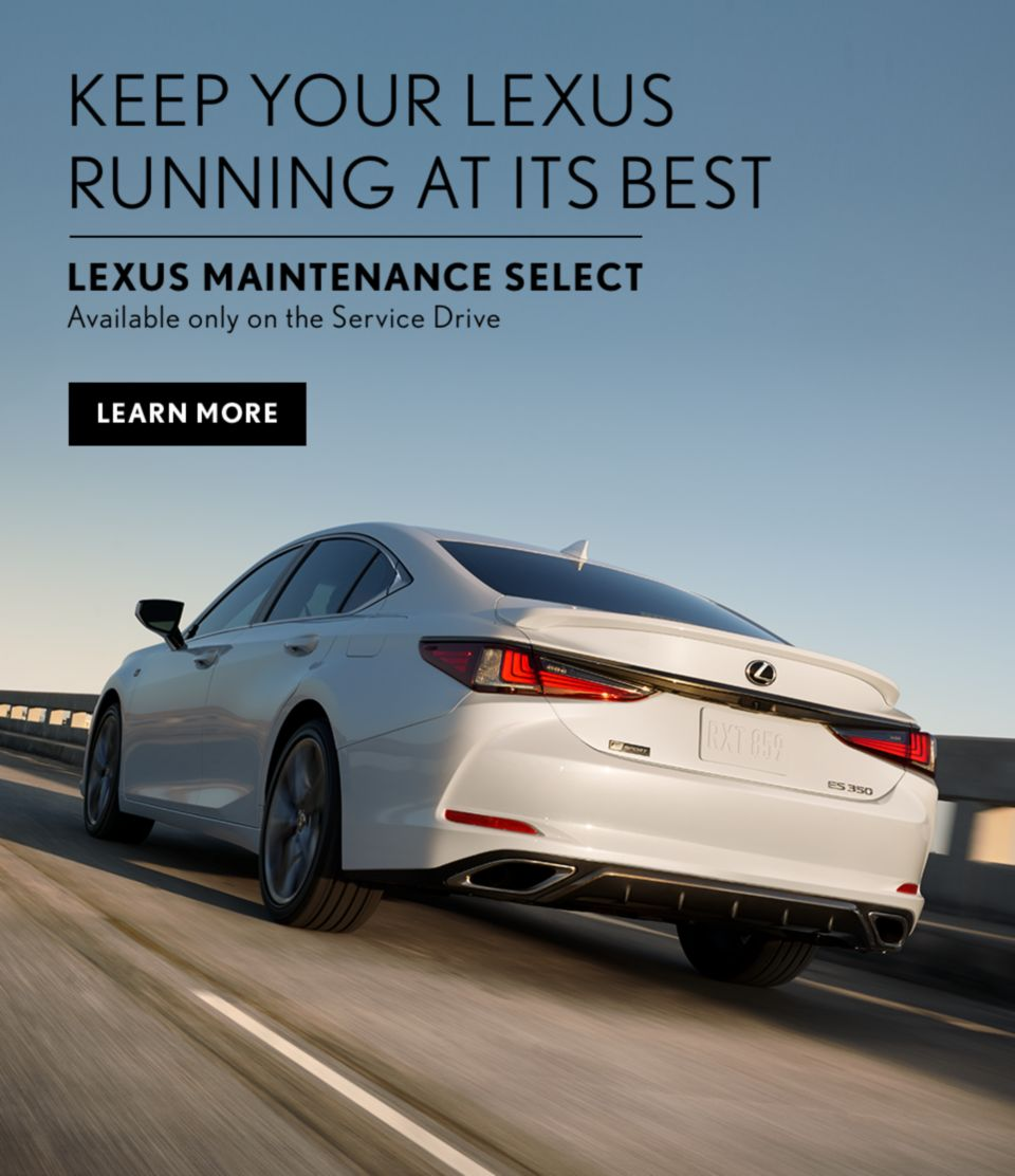 Lexus Maintenance Select April 2021