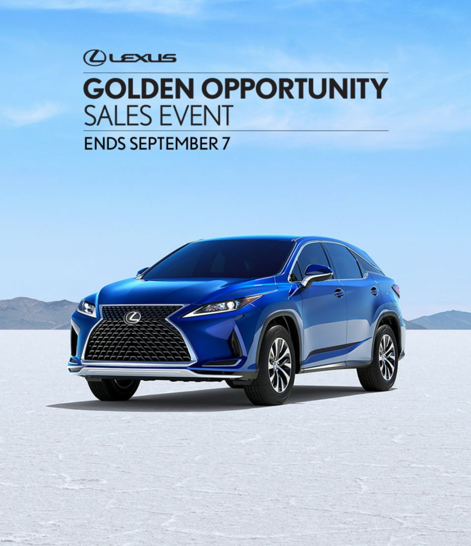 Lexus Summer Sales Event 2021