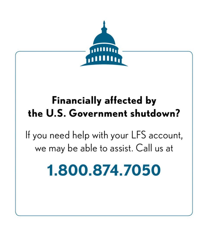Govt Shutdown Banner