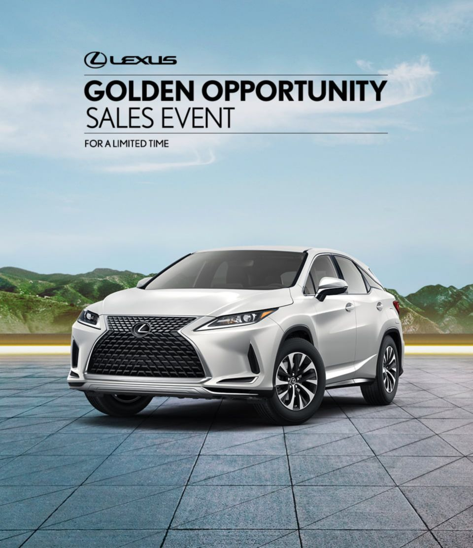 Lexus Summer Sales Event July 2020