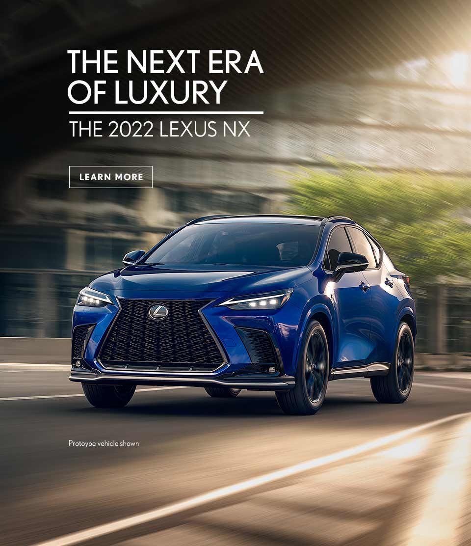 2022 Lexus NX Press Promo