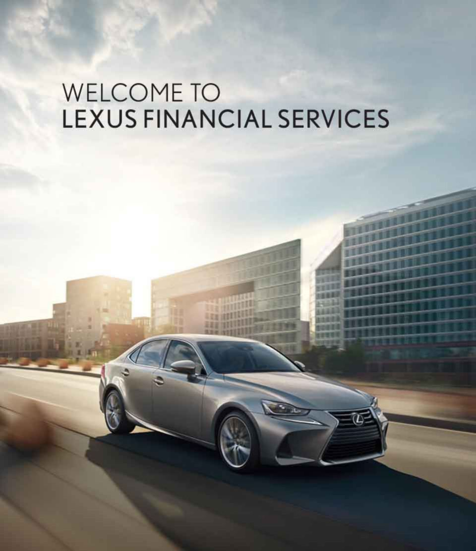 Welcome to Lexus Financial Services