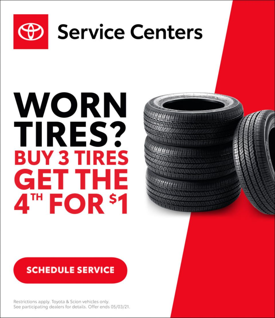 Toyota Tire Event April 2021