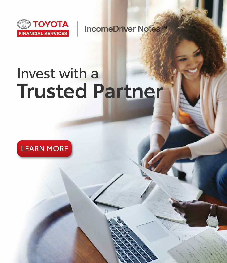 Welcome To Toyota Financial Services. Dream Car · Incomedrivernotes