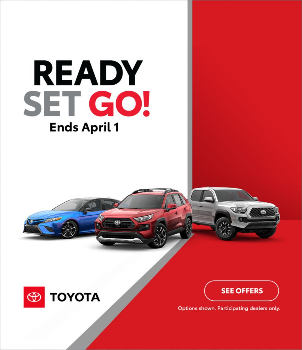 Toyota Sales March